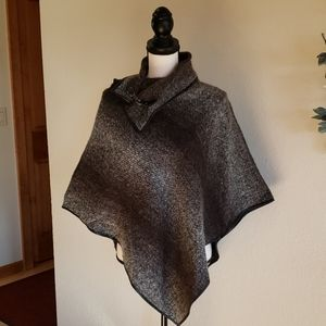 Tweed Poncho one size fits all